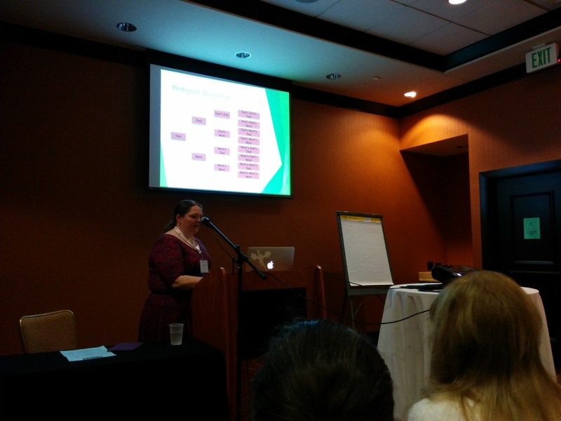 Sara Gredler's DNA session from the 2016 Texas State Genealogical Society Conference